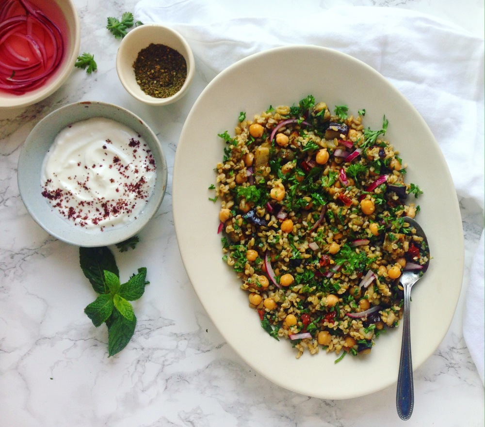 what to make with freekeh